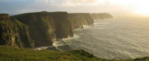 Day Trips 1 Shannon Airport Taxis recommends taking time to view the Stunninf Cliffs at Sunset